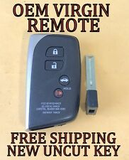 NEW UNCUT EMERGENCY KEY FOR LEXUS LS600H LS460 SMART KEY PROX REMOTE HYQ14ACX