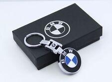 3D Chrome Pendant BMW Keychain Key Chain Ring For BMW M1 M3 M5 M6 X1 X3 X5 X6 Z4