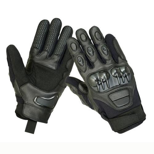 Tactical Hard Knuckle Combat Police Patrol Shooting Motorbike Driving Gloves