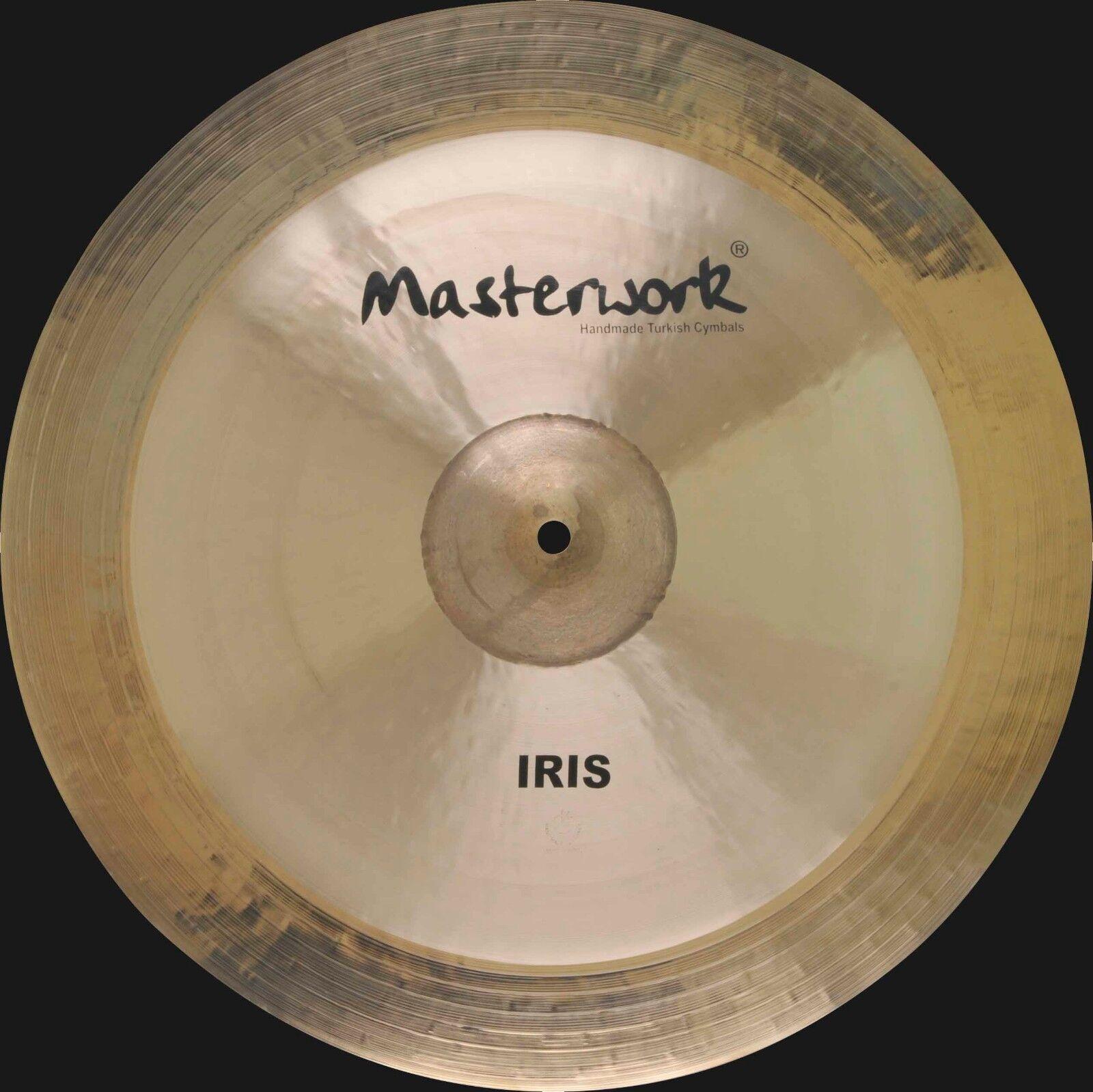 Masterwork Cymbals Iris Series 19-inch Iris Ride Heavy