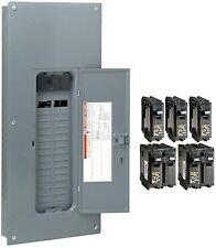square d 100 amp 240 volt nqod424l100 main lug load center (loa1427
