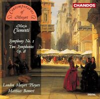 London Mozart Players, M. Clementi - Symphony No. 1 [new Cd]