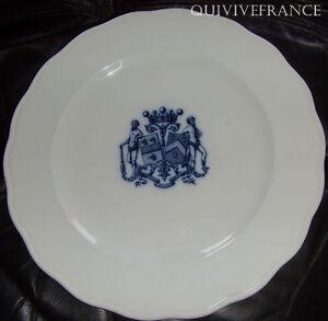 Assiette De Mariage Vicomte De Louviers - Porcelaine Anglaise CaractèRe Aromatique Et GoûT AgréAble