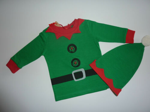 NEXT Little ELF Top and Matching Hat PLAYS JINGLE BELLS!! NWT