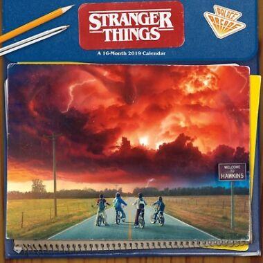 2 Stranger Things 2019 Wall Calendar Tv 894043