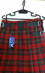 Ex-Hire-Macgregor-modern-8-YARD-WOOL-KILT-ONLY-EX-HIRE-99-A1-CONDITION