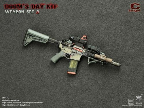 1//6 Scale Toy Doom/'s Day Kit  Weapon Set C Strigoi MINT IN BOX