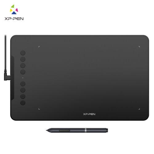 """XP-Pen Deco01 10x6.25/"""" Graphics Drawing Pen Tablet 8192 levels 8 Shortcut Keys"""