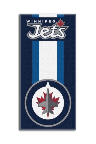 NHL Winnipeg Jets großes Badetuch Handtuch Zone-Read-Beach Towel 150x75cm