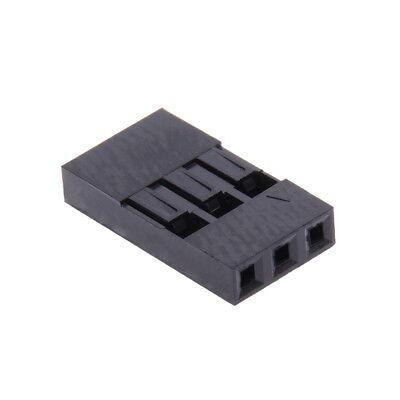 10 x CONNETTORE 3 CONTATTI 3P DUPONT 2,54 mm FEMMINA  presa Arduino cavo spina