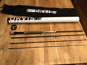 ORVIS-Helios-3D-9ft-7wt-4pc-Fly-Rod-Great-Streamer-Rod-and-Good-Condition