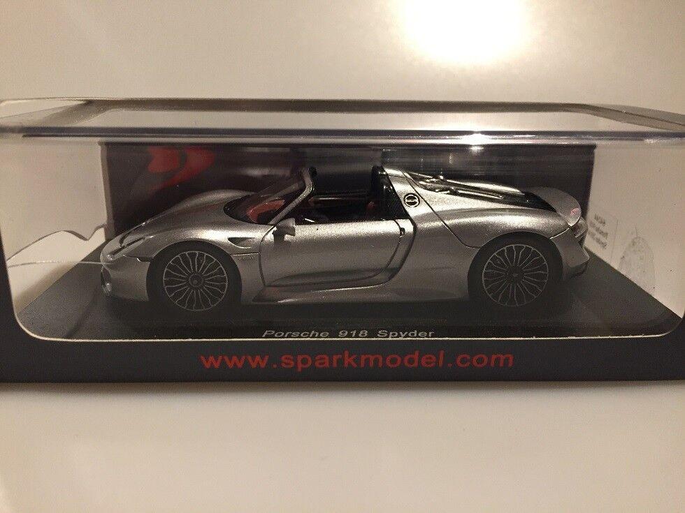1 43 Spark Porsche 918 Spyder 2014 Damage Showcase