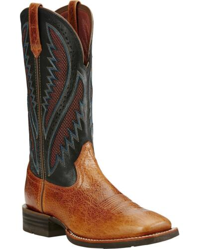 Ariat® Men/'s Quickdraw Venttek Gingersnap Square Toe Boot 10019983