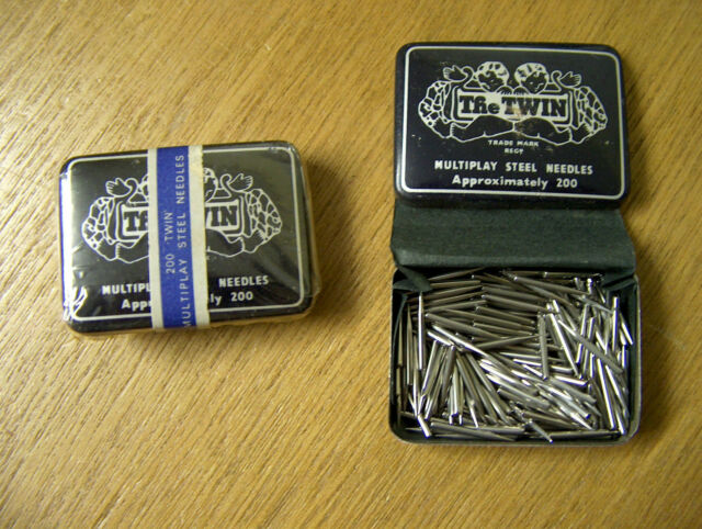 200 x 78 Gramophone needles - NEW