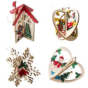 3D-Arbol-de-Navidad-decoraciones-Decoracion-de-Navidad-Adornos-de-madera