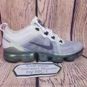 Details about New Nike Air VaporMax 2019 Premium AT6810 100 White Platinum Men Shoes Size 11.5