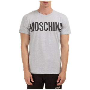 Moschino-T-shirt-herren-a070520401485-kurze-Armel-Rundhalsausschnitt-Grigio