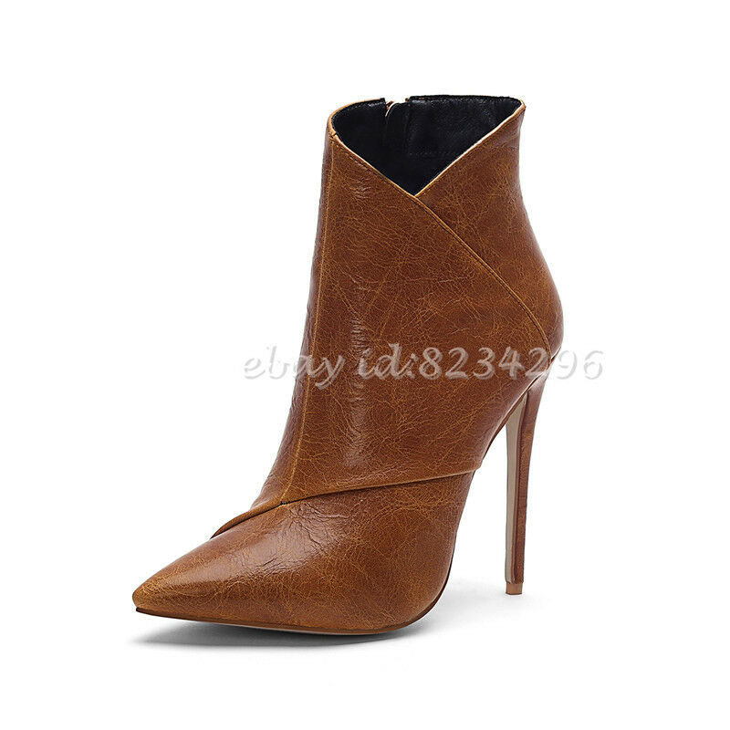 Sexy Boots Womens Ankle Ankle High Boots Stiletto Heels Pumps OL shoes