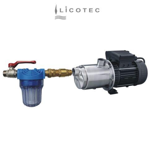 """Pumpenmontage-Set Vorfilter-Set Wasserfilter-Set 5"""" kurz für Gartenpumpe 1"""""""
