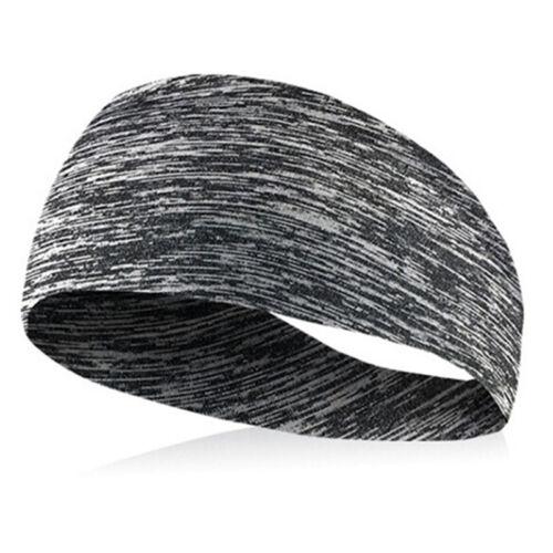Women Men Cycling Yoga Sport Sweat Headband Hair Bands Head Sweat Band Jx