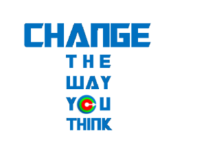 T-shirt-CHANGE-THE-WAY-YOU-THINK-ONLY-s-size-available