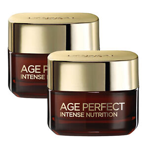 NEW L'Oreal Paris Age Perfect Intense Nutrition Rich Repairing Day Cream 50ml...