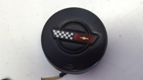 86-89 Corvette C4 Horn Button Center Cap with Emblem NICE USED