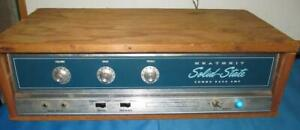 Vintage-Heathkit-TA-38-Guitar-Solid-State-Amp-Amplifier