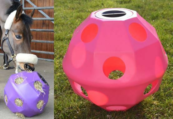 Pink Equine Horse or Pony Hay Ball  75mm Treat Feeder, MULTI-BUY DISCOUNT  shop makes buying and selling