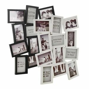 Multi Photo 8 Image Large Decorative Cadre Collage Ouverture Mural Home