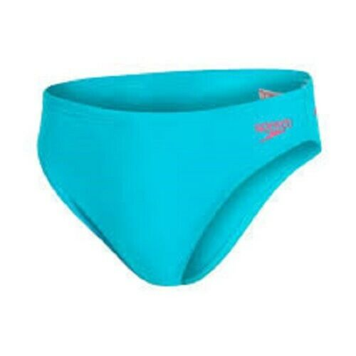 "Speedo Briefs Size 26/"" NEW Mens Trunks Swimming Brief Jade Endurance 5cm Model"