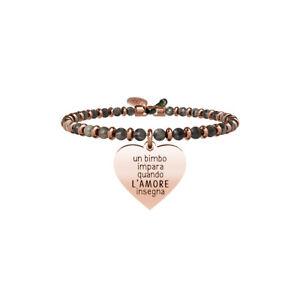 Kidult-Bracciale-Donna-Collezione-Love-Cuore-L-039-Amore-Insegna-Labradorite-731440