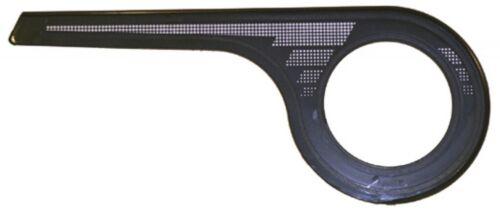 Axa Chain guard 1-winged 48 teeth for Gear hub black