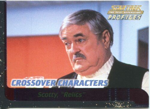 Star Trek TNG Profiles Qs Quips Chase Card Q7