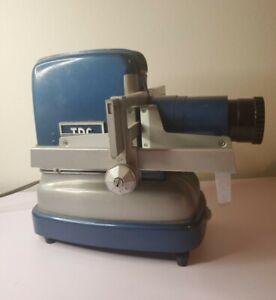 Vintage Blue & Grey TDC Vivid Mainliner 300 Selectron Semimatic Slide Projector