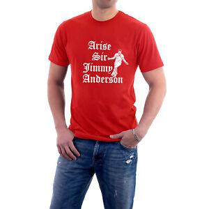 Arise Sir Jimmy Anderson Cricket T-shirt England Fast Bowler Swing Fan Tee