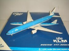"Gemini Jets 400 KLM Royal Dutch Airlines B777-300ER ""2003s color"" 1:400"