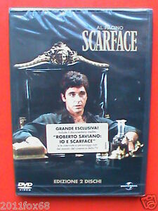 Al Pacino AlPacino al pacino Scarface Brian De Palma Roberto Saviano 2 DVD Nuovo - Italia - Al Pacino AlPacino al pacino Scarface Brian De Palma Roberto Saviano 2 DVD Nuovo - Italia