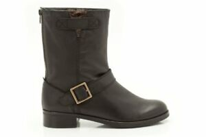 4 Ladies Womens With Bounty Black Leather Boots Zip Clarks Kallie D Size qRx5OfRwnF