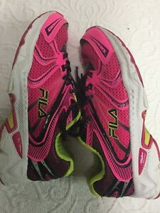 Size 5 Pink FILA DLS Running Shoes
