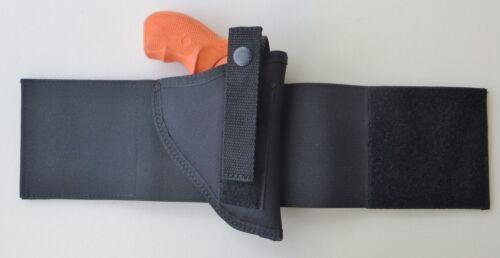 "Elastic Wrap Ankle Holster for Charter Arms Bulldog 44 /& Pitbull  2 1//2/"" Barrel"