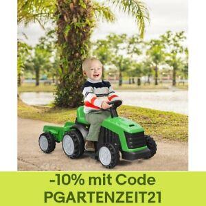 Kinderfahrzeug Kinder Traktor Elektroauto Kinderauto Aufsitztraktor 6V 2-Gang