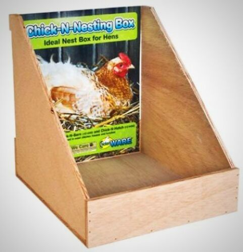 Ware Manufacturing Chick Nesting Box Durable Plywood Livestock Supply Brand New