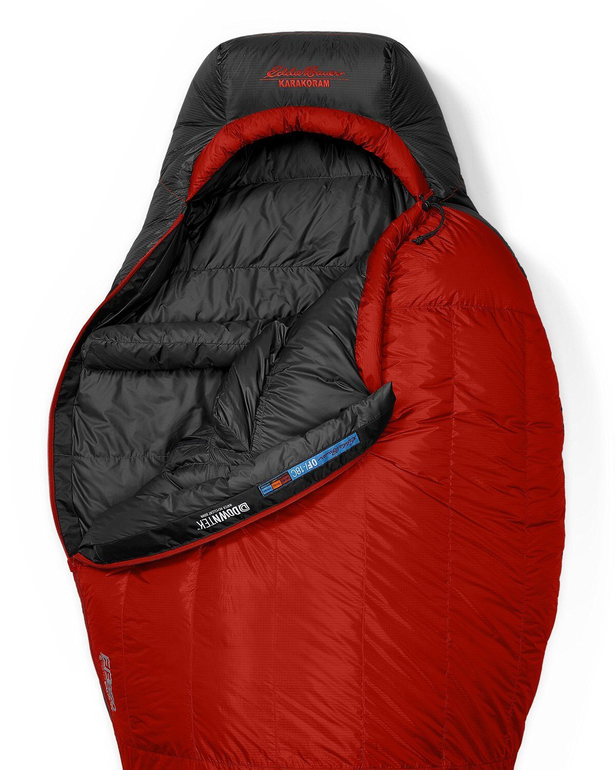 2019 FIRST ASCENT KARA KORAM 0° STORMDOWN SLEEPING BAG 850 FILL DOWN NWT