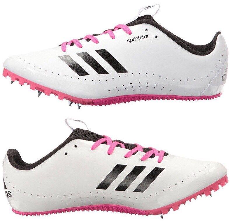 Adidas Performance SprintStar W Running Spikes White Pink BB5751 Donna's 9.5 New