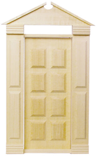 Dollhouse Houseworks Traditional Americana Door 1//12 scale  HW6004