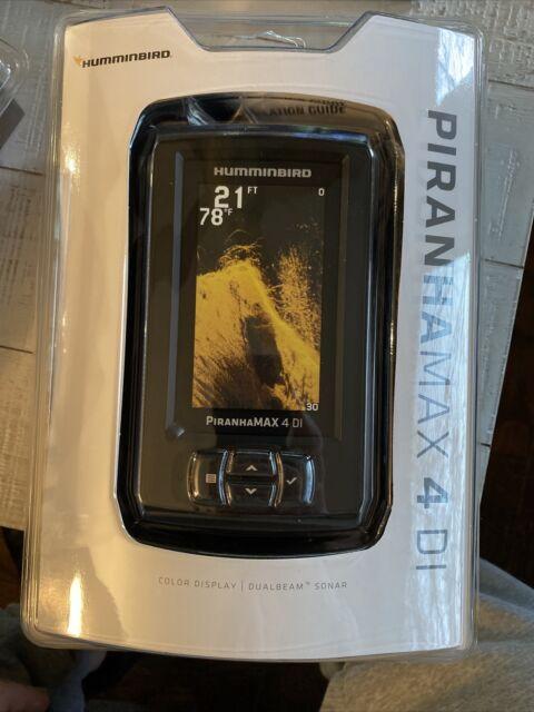 """Piranhamax 4 DI Hummingbird Fish Finder (Down Imaging) Color 4.3"""" Display 410160"""