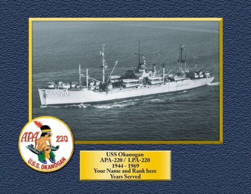 USS ORION AS-18 Custom Personalized Print of US Navy Gift Idea