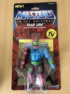 Super 7 Masters of the Universe Vintage Collection Trap Jaw Figure