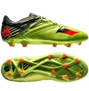 Adidas Homme Messi 15.1 FG AG Soccer Crampons Tailles 10-12 SOLAR Slime Noir S74679-afficher le titre d`origine Wa3kcwsC-07141545-855801903